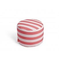 Pouf POINT OUTDOOR de Fatboy, Stripe Red