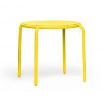 TABLE RONDE TONI BISTREAU, 5 couleurs de FATBOY