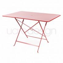 TABLE PLIANTE BISTRO 117 X 77CM COQUELICOT de FERMOB