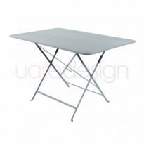 TABLE PLIANTE BISTRO 117 X 77CM GRIS ORAGE de FERMOB
