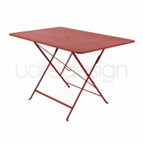 TABLE PLIANTE BISTRO 117 X 77CM PIMENT de FERMOB