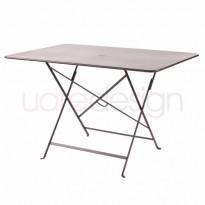 TABLE PLIANTE BISTRO 117 X 77CM ROUILLE de FERMOB