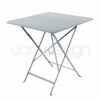 TABLE PLIANTE BISTRO 71 X 71CM GRIS ORAGE de FERMOB