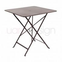 TABLE PLIANTE BISTRO 71 X 71CM ROUILLE de FERMOB