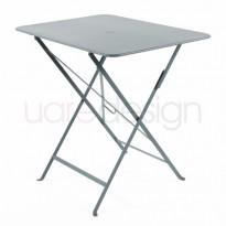 TABLE PLIANTE BISTRO 77 X 57CM GRIS ORAGE de FERMOB