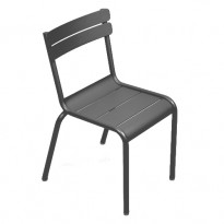 CHAISE LUXEMBOURG KID, Carbone de FERMOB