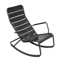 ROCKING CHAIR LUXEMBOURG, Carbone de FERMOB