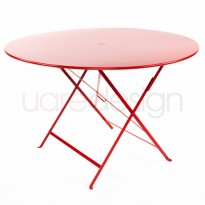 TABLE RONDE PLIANTE BISTRO, 4 tailles, 24 coloris de FERMOB