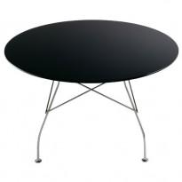 TABLE RONDE GLOSS, Noir de KARTELL