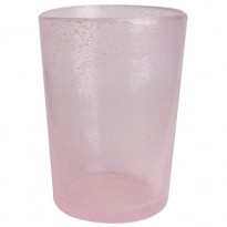 VERRE BULLE HANDMADE L ROSE de W2 PRODUCTS