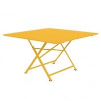TABLE PLIANTE CARGO 130 X 130 CM, Miel de FERMOB