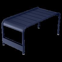 GRANDE TABLE BASSE LUXEMBOURG, Bleu abysse de FERMOB
