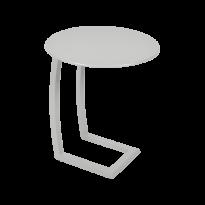 TABLE BASSE DÉPORTÉE ALIZÉ, Gris métal de FERMOB