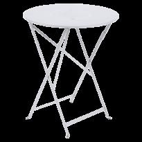 TABLE FLOREAL 60CM  BLANC COTON de FERMOB