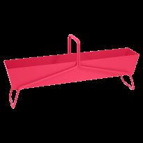 JARDINIÈRE BASKET LONG ROSE PRALINE de FERMOB