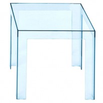 TABLE BASSE JOLLY DE KARTELL, BLEU CIEL