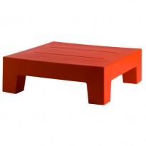 TABLE BASSE JUT 60, Rouge de VONDOM
