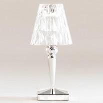 LAMPE A POSER BATTERY DE KARTELL, ARGENT