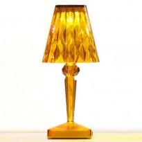 LAMPE A POSER BATTERY DE KARTELL, AMBRE