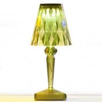 LAMPE A POSER BATTERY DE KARTELL, VERT