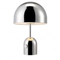 LAMPE A POSER BELL DE TOM DIXON, CHROME