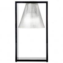LAMPE A POSER LIGHT AIR DE KARTELL, CRISTAL - CADRE NOIR