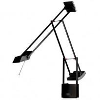LAMPE A POSER TIZIO, Double-intensité / Noir de ARTEMIDE