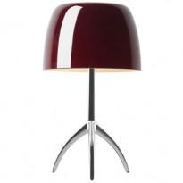 LAMPE A POSER LUMIERE PICCOLA AVEC VARIATEUR, 3 options, 4 couleurs de FOSCARINI
