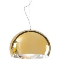 LAMPE FL/Y MÉTALLISÉE, Small, Or de KARTELL