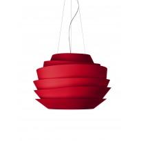 SUSPENSION LE SOLEIL LED, Dimmable, Rouge de FOSCARINI