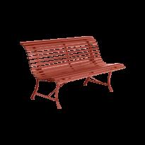 BANC LOUISIANE 150, Ocre rouge de FERMOB