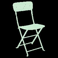 Chaise pliante LORETTE métal de Fermob, Vert opaline