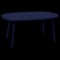 TABLE OVALE LORETTE 160 x 90 cm, 24 couleurs de FERMOB