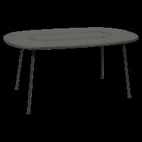TABLE OVALE LORETTE 160 x 90 cm, Romarin de FERMOB