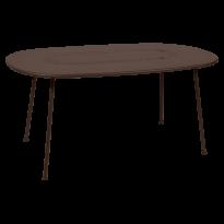 TABLE OVALE LORETTE 160 x 90 cm, Rouille de FERMOB