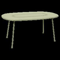 TABLE OVALE LORETTE 160 x 90 cm, Tilleul de FERMOB