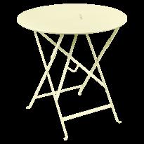 TABLE RONDE PLIANTE LORETTE, 24 couleurs, 2 tailles de FERMOB