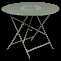 TABLE RONDE PLIANTE LORETTE, Cactus, D. 96 de FERMOB