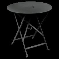 TABLE RONDE PLIANTE LORETTE, Carbone, D. 77 de FERMOB