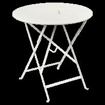 TABLE RONDE PLIANTE LORETTE, Gris argile, D. 77 de FERMOB