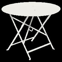 TABLE RONDE PLIANTE LORETTE, Gris argile, D. 96 de FERMOB