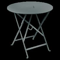 TABLE RONDE PLIANTE LORETTE, Gris orage, D. 77 de FERMOB