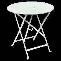 TABLE RONDE PLIANTE LORETTE, Menthe glaciale, D. 77 de FERMOB