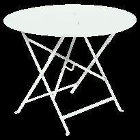 TABLE RONDE PLIANTE LORETTE, Menthe glaciale, D. 96 de FERMOB