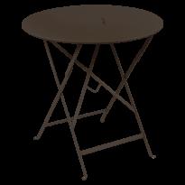 TABLE RONDE PLIANTE LORETTE, Rouille, D. 77 de FERMOB