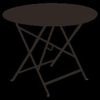 TABLE RONDE PLIANTE LORETTE, Rouille, D. 96 de FERMOB