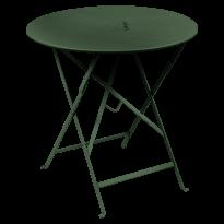 TABLE RONDE PLIANTE LORETTE, Vert cèdre, D. 77 de FERMOB