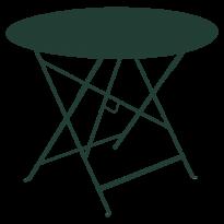 TABLE RONDE PLIANTE LORETTE, Vert cèdre, D. 96 de FERMOB