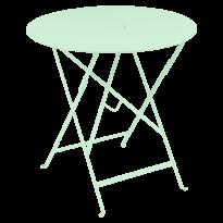 TABLE RONDE PLIANTE LORETTE, Vert opaline, D. 77 de FERMOB