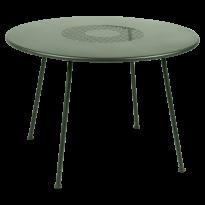 TABLE RONDE LORETTE Ø.110 cm, Cactus de FERMOB